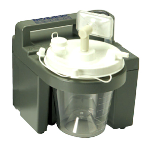 how to use a portable suction machine