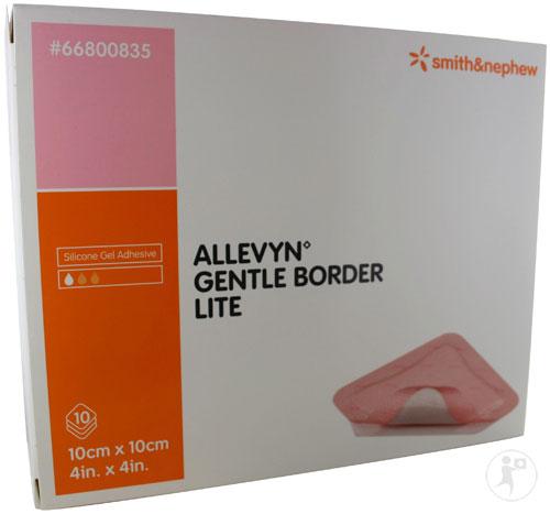 Allevyn Gentle Border Lite 10cmx10cm 171 Medical Mart