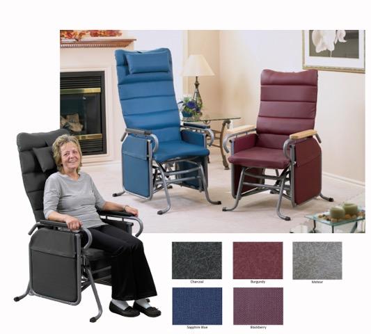 Broda Auto Locking Glider Chair 20 Seat Width 32 Back
