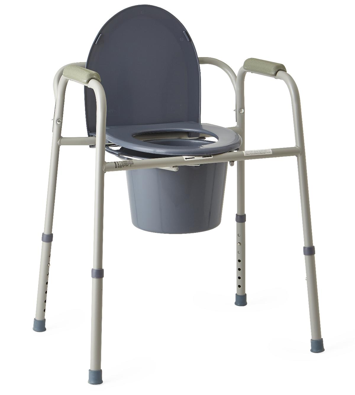 Commode Chair Stationary Adjustable Height « Medical Mart