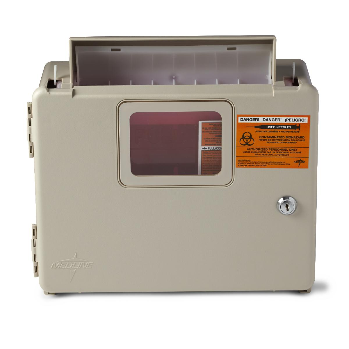 SHARPS LOCKING WALL CABINET F/MDS705153 SHARPS CONTAINER