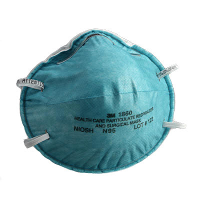 Face Mask 3m N95 Molded Healthcare Fluid Repellant Small